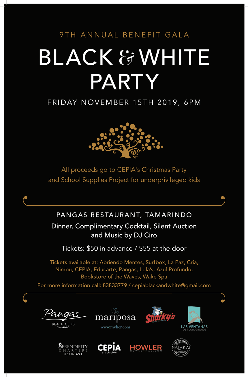 Black & White Party – 9th Annual Benefit Gala