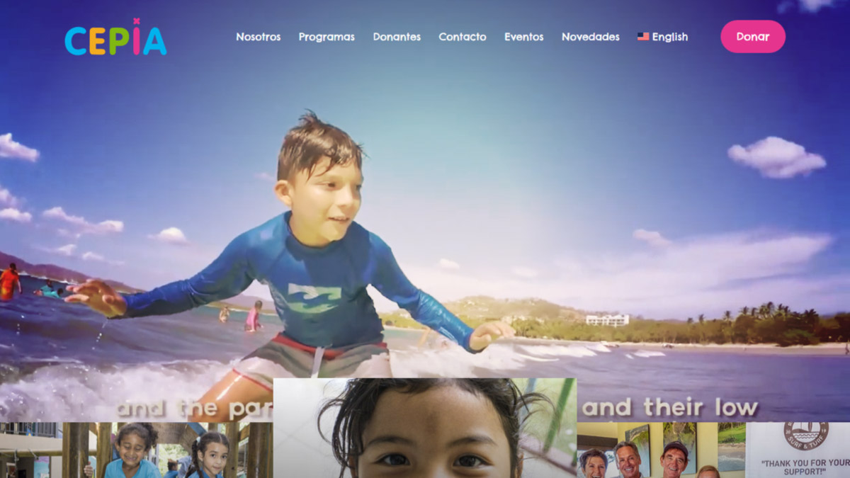 Nuevo website de CEPIA