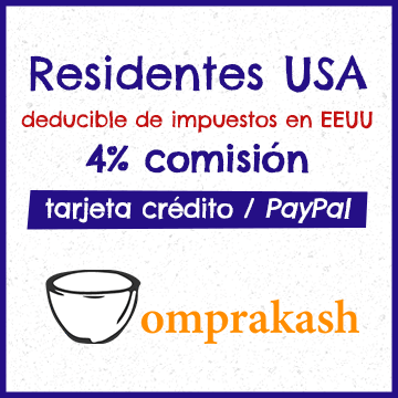 Donar a CEPIA desde EEUU con Omprakash