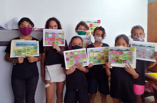 Girls' Club in Potrero