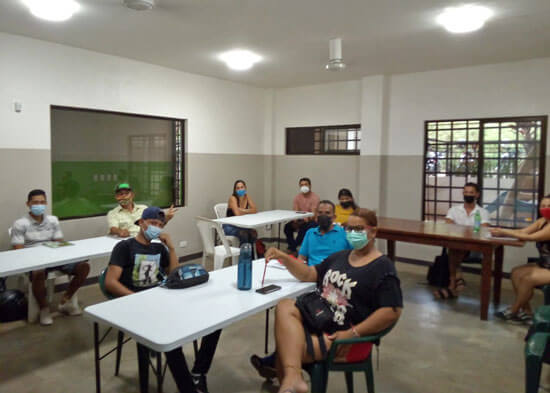 Intermediate English class